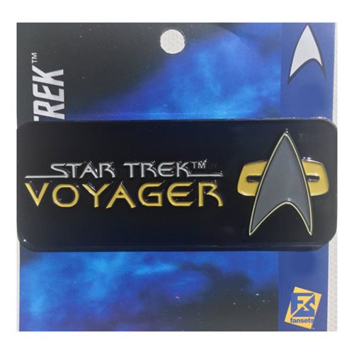 Star Trek Voyager Logo Pin