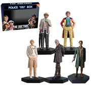 Doctor Who Mid-Era Doctors Figure Set