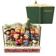 Peanuts Christmas Storybook Statue by Jim Shore