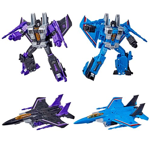 Transformers Earthrise Voyager Skywarp and Thundercracker
