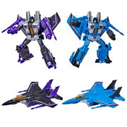 Transformers Generations War for Cybertron Earthrise Voyager Skywarp and Thundercracker