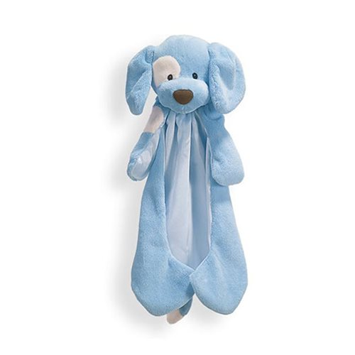 Spunky Dog Huggybuddy Blue Plush Blanket
