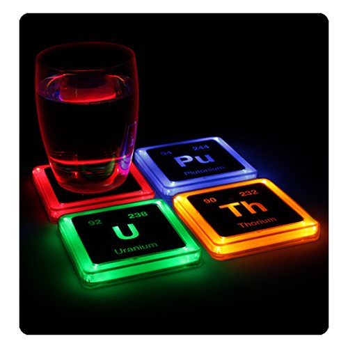 Radioactive Glowing Coaster Set