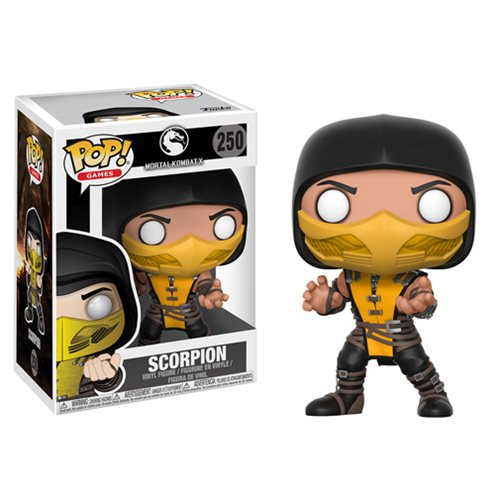 Mortal Kombat Scorpion Pop! Vinyl Figure #250