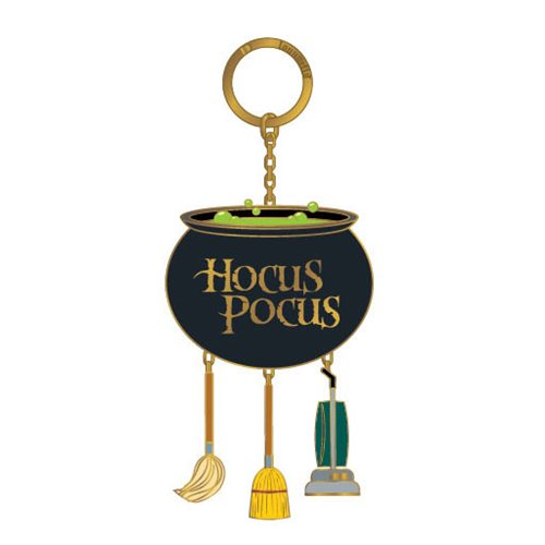 Disney Hocus Pocus Enamel Cauldron Key Chain
