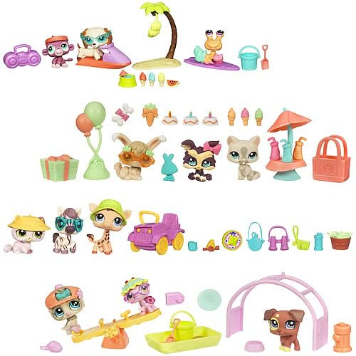 Littlest Pet Shop Themed Play Packs Wave 3