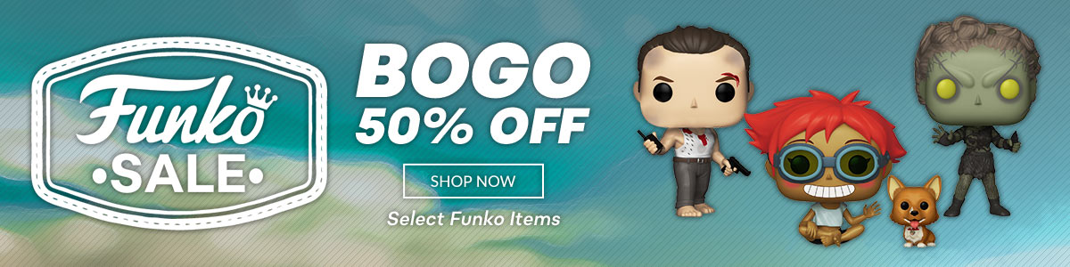 Buy One, Get One 50% Off Select Funko