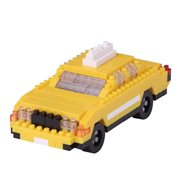 New York Taxi Nanoblock Constructible Figure