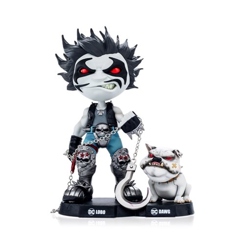 DC Comics Lobo and Dawg MiniCo. Vinyl Figure