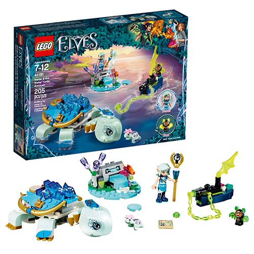 LEGO Elves 41191 Naida and the Water Turtle Ambush