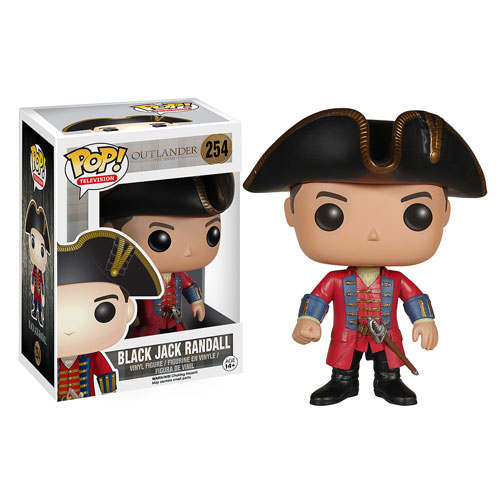 Outlander Black Jack Randall Pop! Vinyl Figure, Not Mint