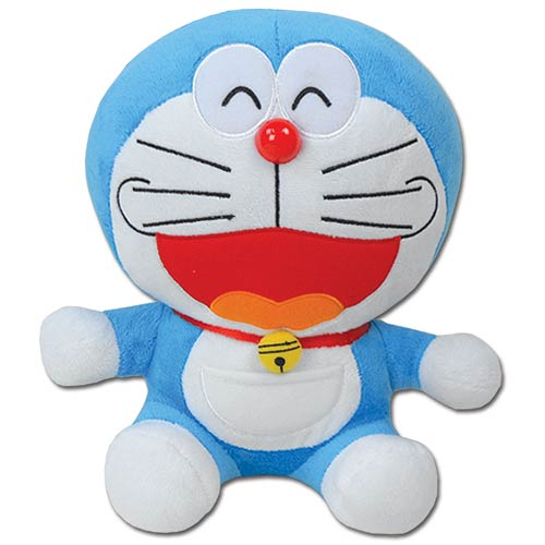 Doraemon Smile Face Doraemon 10-Inch Plush