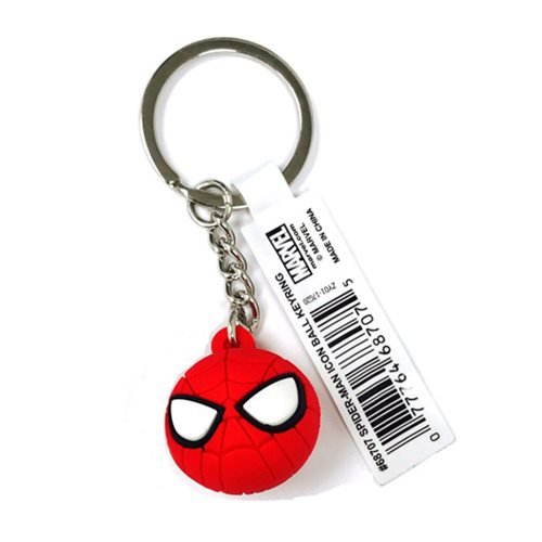 Spider-Man Icon Ball Key Chain