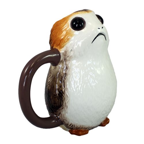 Star Wars: The Last Jedi Porg Ceramic Sculpted Mug