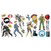 G.I. Joe Retro Peel and Stick Wall Decals