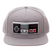 Nintendo Controller Chrome Weld Snapback Hat