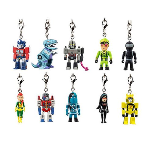Transformers vs. G.I. Joe Key Chain Random 4-Pack