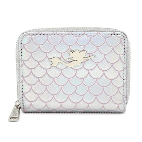 Little Mermaid Ariel 30th Anniversary Zip-Around Wallet