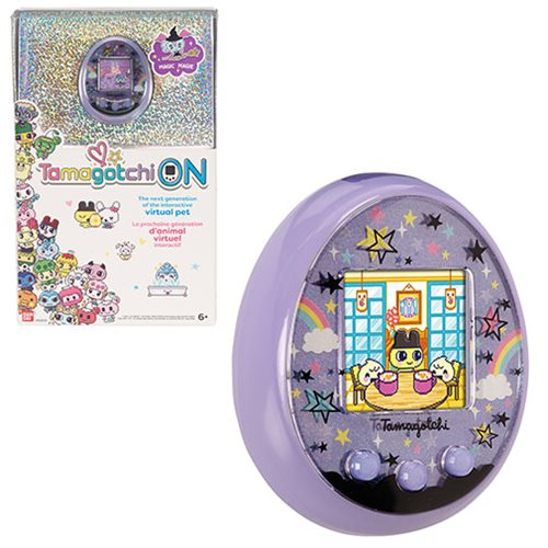 Tamagotchi On Magic Purple Electronic Game