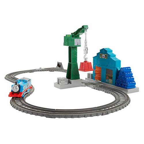 Thomas & Friends Track Master Demolition at the Docks Playset