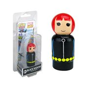 Black Widow Pin Mate Wooden Figure