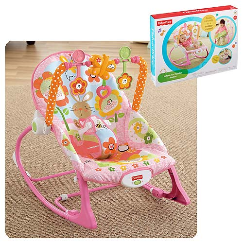 Infant-to-Toddler Pink Rocker