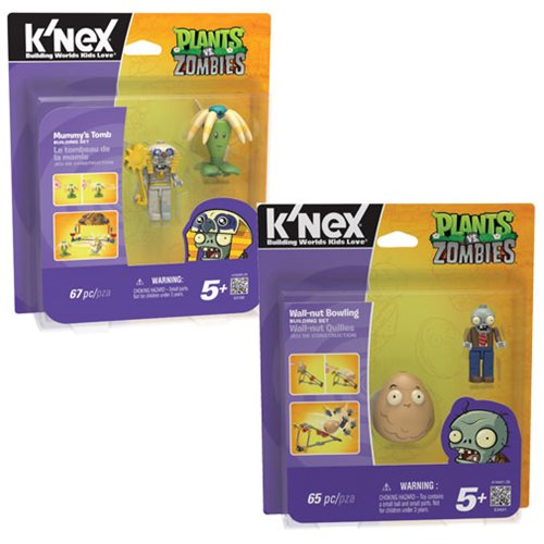 K'NEX Plants Vs. Zombies Playset 2-Pack