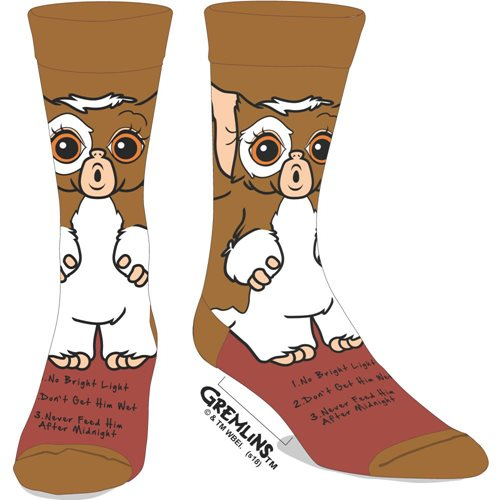Gremlins Gizmo 360 Character Crew Socks