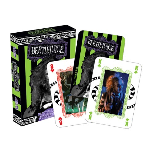 Beetlejuice Playing Cards