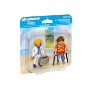 Playmobil 70079 Duo Packs Doctor and Patient Action Figures