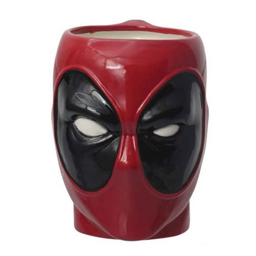 Deadpool Head Molded Mug