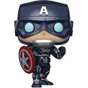 Marvel's Avengers Game Captain America Pop! Vinyl Figure