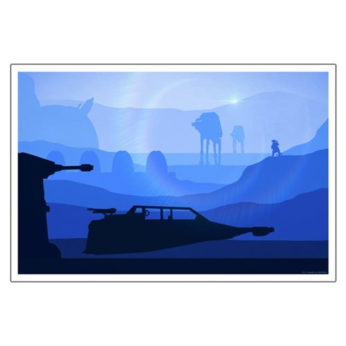 Star Wars T-47 Airspeeder by Jason Christman Lithograph Art Print