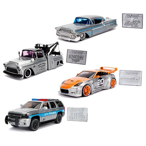 Jada 20th Anniversary 1:24 Scale Die-Cast Metal Vehicle Wave 1 Case