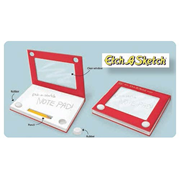 Etch-A-Sketch Notebook