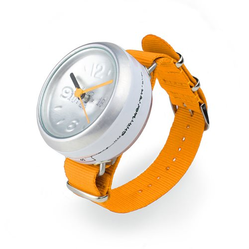 Orange Pop Can Watch