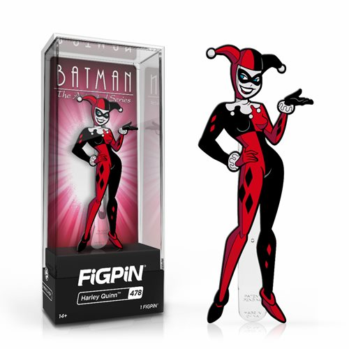 Batman: The Animated Series Harley Quinn FiGPiN Classic Enamel Pin