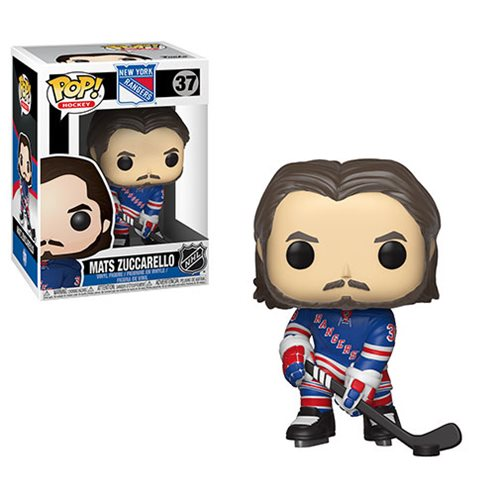 NHL Mats Zuccarello Rangers Pop! Vinyl Figure #37, Not Mint