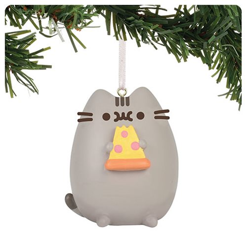 Pusheen the Cat I Love Pizza Ornament