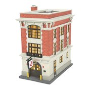 Ghostbusters Hot Properties Village Firehouse Light-Up Statue