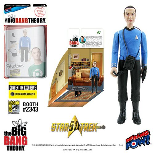 The Big Bang Theory / Star Trek: The Original Series Sheldon 3 3/4-Inch Action Figure Series 2 - Convention Exclusive