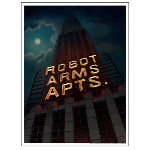 Futurama Robot Arms Apts. by Amanda Cook Lithograph Art Print