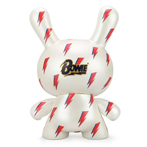 David Bowie Lightening Bolt 8-Inch Icon Dunny Vinyl Figure