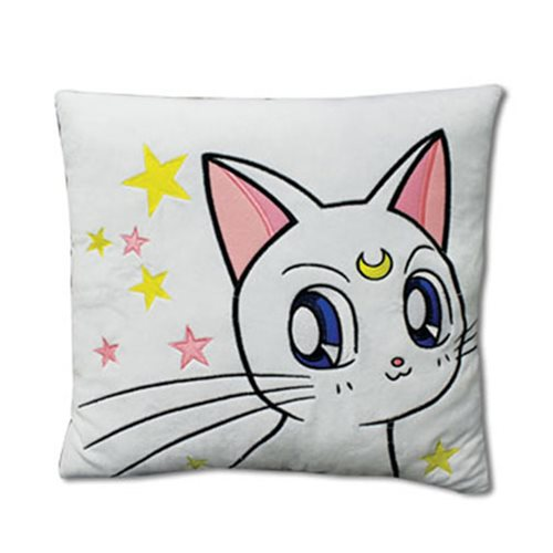 Sailor Moon Supers Artemis Throw Pillow