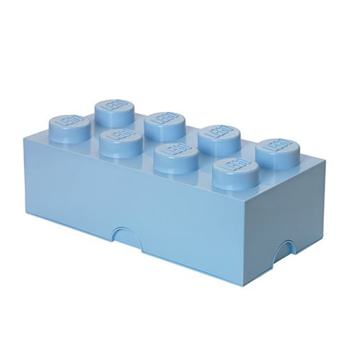 LEGO Light Royal Blue Storage Brick 8
