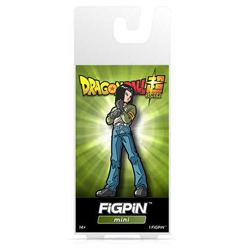 Dragon Ball Super Android 17 FiGPiN Mini