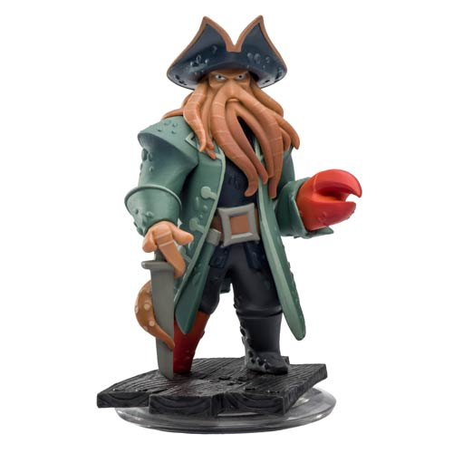 Disney Infinity Pirates of the Caribbean Davy Jones Video Game Mini-Figure