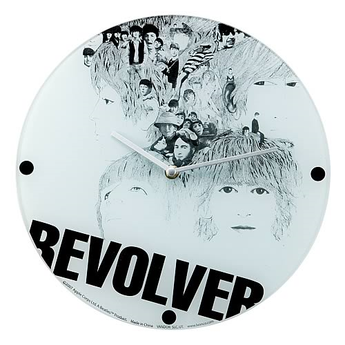The Beatles Revolver Glass Wall Clock