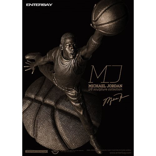 Michael Jordan 1:6 Scale Sculpture Collection Bronze Edition Statue