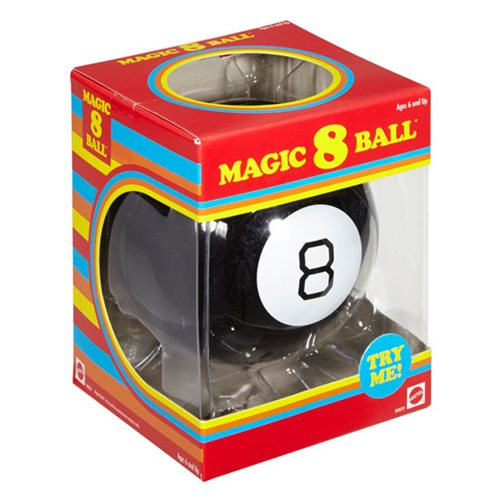Retro Magic 8 Ball